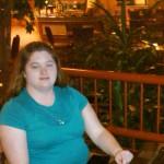Me sitting in the Atrium