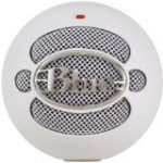 White Blue Snowball Microphone